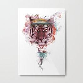 Tiger - Spirit Animal Metal Print