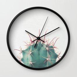 Ferocactus Wall Clock