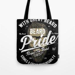 Beard Pride Tote Bag