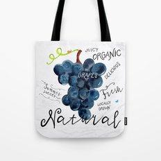 Watercolor grapes Tote Bag