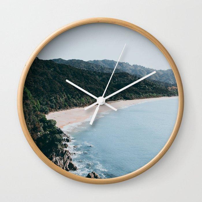 New Zealand III Wall Clock