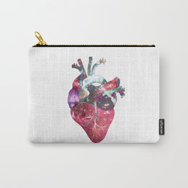Superstar Heart (on white) Carry-All Pouch