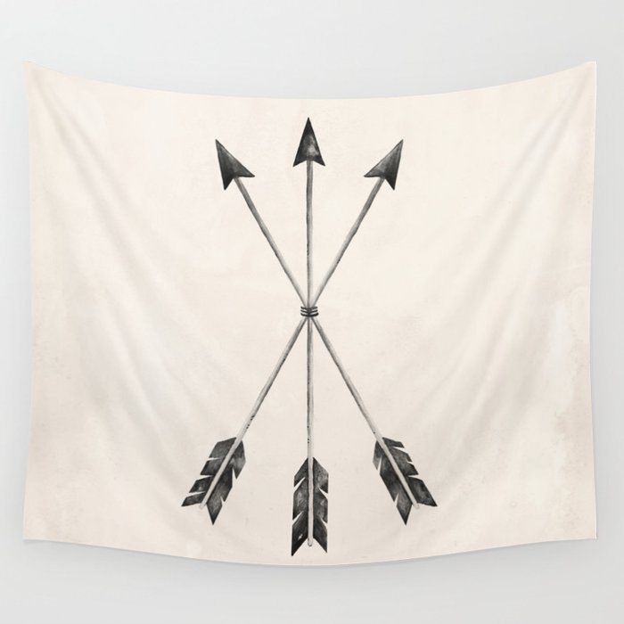 ARROWS Wall Tapestry
