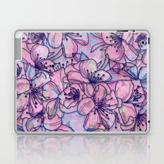 Over and Over Flowers 2 Laptop & iPad Skin