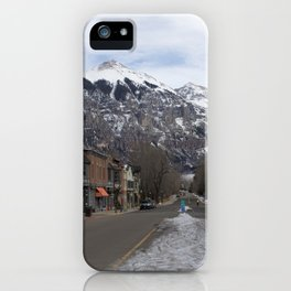 Downtown Telluride, Colorado iPhone Case