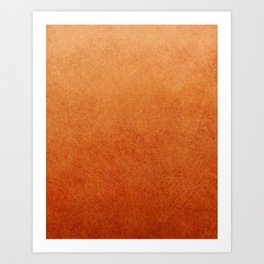 Brown Textured Ombre Abstract Art Print