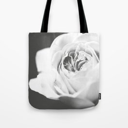 Light Grey Rose #1 #floral #art #society6 Tote Bag