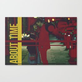 About Time Canvas Print