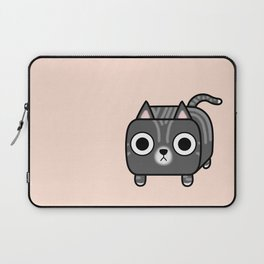 Cat Loaf - Grey Tabby Kitty Laptop Sleeve