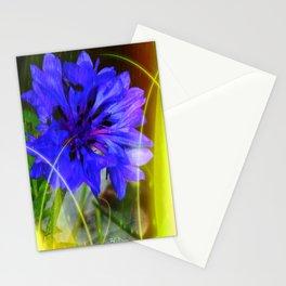 Blue Tear Stationery Cards