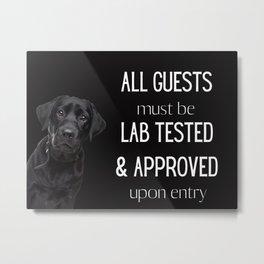 Lab Tested II Metal Print