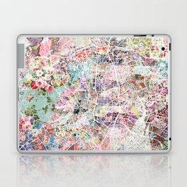 Madrid map Laptop & iPad Skin