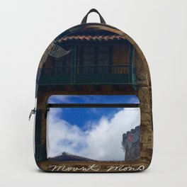 Mount Monserrate at Christmastime Maybe, Bogota, Colombia Backpack