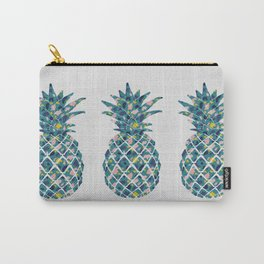 Pineapple Teal Carry-All Pouch