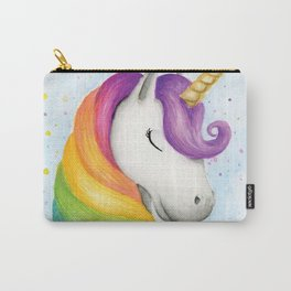 Rainbow Unicorn Carry-All Pouch