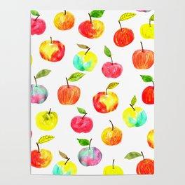 Spring apples Poster