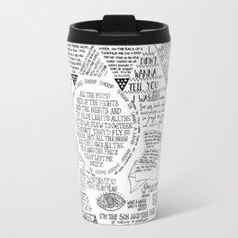 Life is a Mixtape Travel Mug
