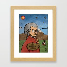 Wolfgang from Earth (Clavicembalo) Framed Art Print