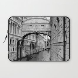 The Bridge of Sighs in Venice Italy Travel Laptop Sleeve