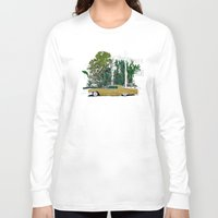 drive Long Sleeve T-shirts featuring Drive by Suzie-Q