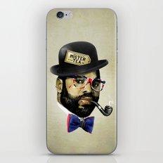 MISTER TEA iPhone & iPod Skin