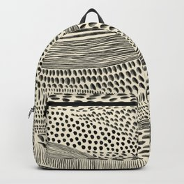 Hand Drawn Patterned Abstract II Backpack