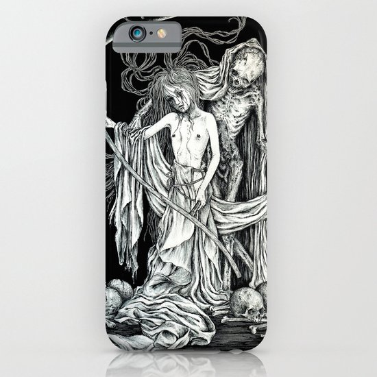 Death and the Maiden III iPhone & iPod Case