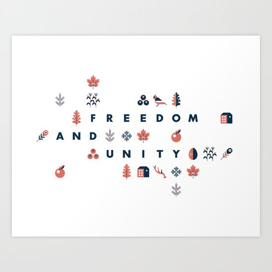 Vermont Art Print