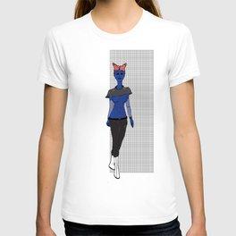 Galactic Street Queen; Martian Babe T-shirt