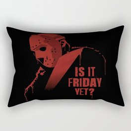 Is it Friday Rectangular Pillow
