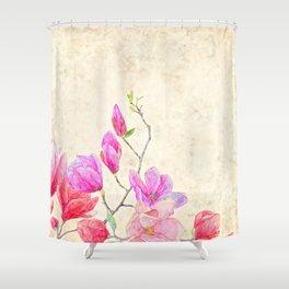 Vintage Spring Shower Curtain