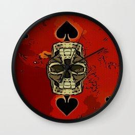 DUECES ARE WILD V2 - 002 Wall Clock