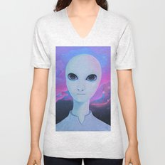 Alien - Extraterrestrial Biological Entity #1 (EBE#1) Unisex V-Neck