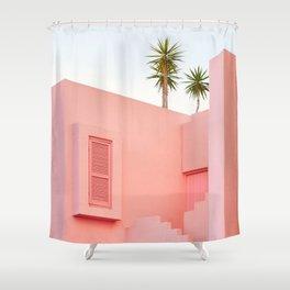 Muralla Roja Shower Curtain
