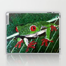 Costa Rica Tree Frog Laptop & iPad Skin