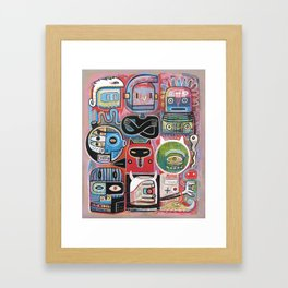 Hypnotictac Framed Art Print