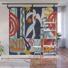 Inspired to Matisse Wall Mural