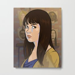April Ludgate Metal Print