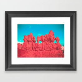 Hoodoo's Voodoo In the Best Possible Way (Bryce Canyon) Framed Art Print