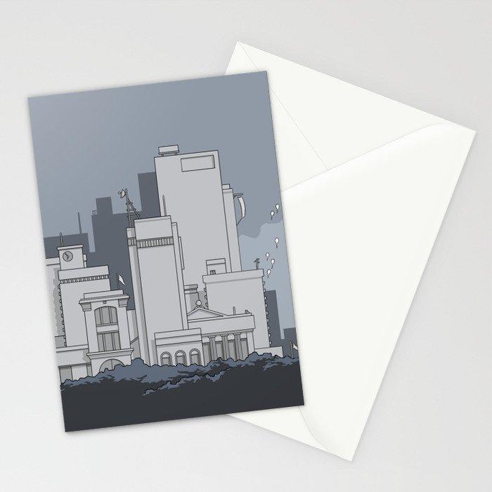 City #5 Stationery Cards