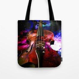 violin nebula Tote Bag
