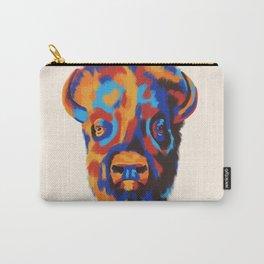 Buffalo Blue Carry-All Pouch