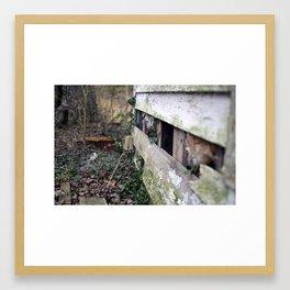 Abandoned House | Entropy | Crittenden, VA Framed Art Print