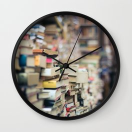 Personal Library Wall Clock