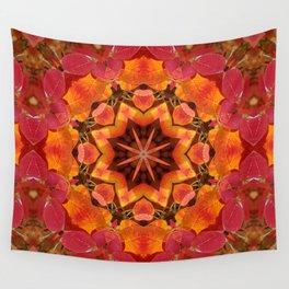 Serviceberry mandala tapestry II Wall Tapestry