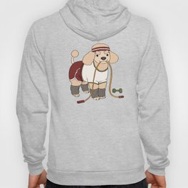 Workout Puppy Hoody