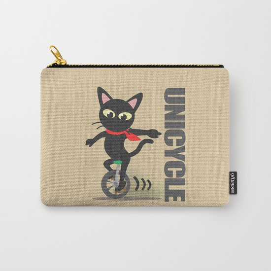 Unicycle Carry-All Pouch