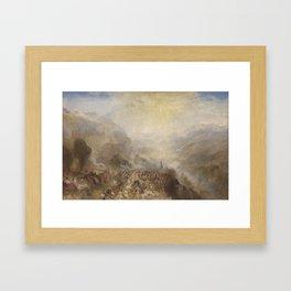 Joseph Mallord William Turner 1775–1851   Heidelberg Framed Art Print