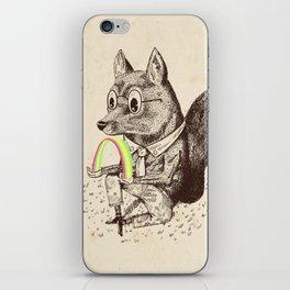 Strange Fox iPhone Skin