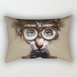 Steampunk Cat Rectangular Pillow
